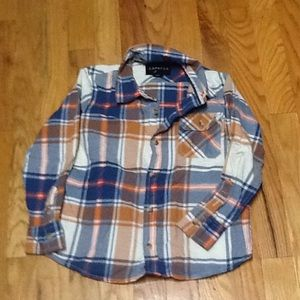 Boy's 6 Button Down Shirt, Like New